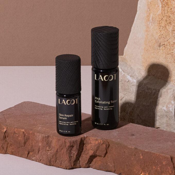 PHA Exfoliating Toner and Skin Repair Serum - Good Evening - LAST Healthy aging skincare
